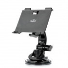 360 Degree Rotation Bracket Grip Holder Stand w/ Suction Cup for Nintendo Wii U Gamepad - Black