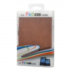 Bark Grain Style Protective PU Leather Case for Ipad MINI - Brown