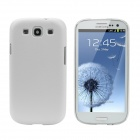 Protective Hard Plastic Back Case for Samsung Galaxy SIII i9300 - White