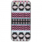 Protective Fashion Pattern Back Case for Iphone 5 - Multicolored