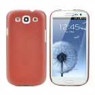 Protective Hard Plastic Back Case for Samsung Galaxy SIII i9300 - Brown