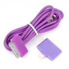 Apple 30Pin USB Cable + Apple 30Pin Female to 8Pin Lightning Male Adapter for iPhone 5 / iPad Mini
