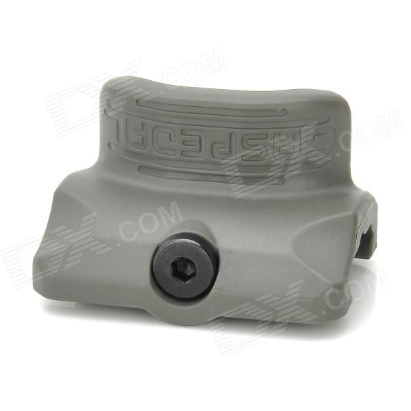 PTS Tactical Gas Pedal for 22mm Rail Gun - Grey dlla133p814 common rail injector nozzle suitable for diesel engine a