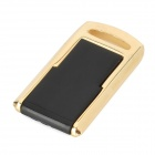 Mini Ultra Thin USB Flash Disk - Golden + Black (4GB)