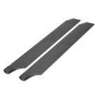 Esky EK4-0005 001467 Carbon Fibre Main Blades for Honey Bee King / Honey Bee King II - Black (Pair)