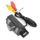 420TVL Wireless Car Rearview Camera w/ Transmitter + Receiver + 7-LED for Car / Minibus - Black