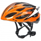 COSI 2027 Cool Outdoor Bike Bicycle Cycling Helmet - Orange + Black + White (58~62cm)