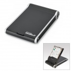 "OI-HE-2003-U3 USB 3.0 Hard Disk Drive Enclosure for 2.5"" SATA HDD - Black + Silver (Max 1TB)"