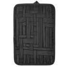 Elastic Digital Products Storage Lining Bag / Board - Black