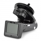 "SH818 2.0"" 3.0MP Safety Warning HD Car DVD Camcorder w/ Charger, USB Reader, E-dog Radar Detector"