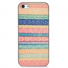 Protective Frosted Back Case for Iphone 5 - Multicolored