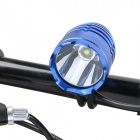 SL-8001 870lm 4-Mode White Hunting Headlamp / Bicycle Light w/ Cree XM-L T6 - Blue (4 x 18650)