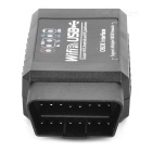 ELM327 Wi-Fi / Interface USB OBD Car II Scanner Ferramenta de diagnóstico - preto (12V)