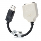 DisplayPort to DVI 24+1 Adapter Cable