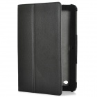 "Protective PU Leather Case Cover w/ Stand for Acer Iconia W700 11.6"" Tablet PC - Black"