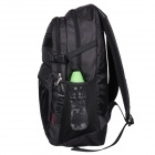 Oiwas 2908 Water Resistant Casual Nylon Outdoor Travel Backpack Bag - Black (32L)