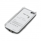 2600mAh Rechargeable External Power Bank Charger w/ USB Cable for iPhone 5 - Black