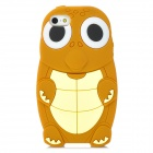 Sea Turtle Stil Protective Silicone Case für iPhone 5 - Brown + Gelb