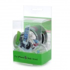 Semi-circle 8-pin Lightning Charging / Data Dock for iPhone 5 / iPad 4 + More - Black + Transparent