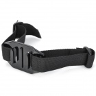 Wearable Head Belt Mount Strap for Gopro 3 / 3+ / SupTig / SJ4000 - Black (24cm)