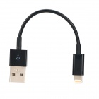 USB Data / Charging 8-Pin Blitz-Kabel für iPhone 5 - Black (10cm)