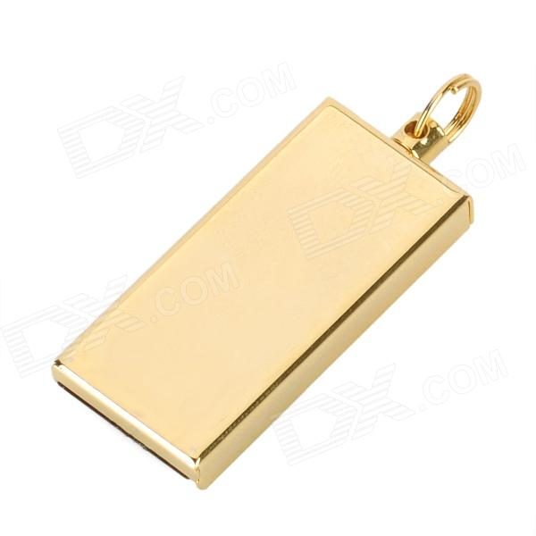 Mini Ultrathin USB 2.0 Flash Drive Memory Stick - Golden (8GB)
