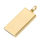 Мини Ультратонкий USB 2.0 Flash Drive Memory Stick - Golden (8GB)