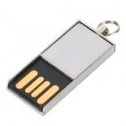 OURSPOP Mini ultrafino USB 2.0 Flash Drive Memory Stick - plata