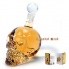 Crystal Head Vodka Skull Wine Bottle Decanter - Transparent (500ml)