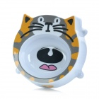 Cute Cartoon Cat Style Melamine Pet Bowl