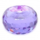 Crystal Apple Decoration Gift - Purple