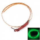 LY185 4.5W 180lm 560nm 45-SMD 1210 LED Green Car Flexible Lamp Strip (12V / 45cm)
