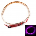 LY181 4.5W 180lm 45-SMD 1210 LED Pink Car Lamp Strip (12V / 45cm)