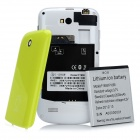 "F1658 Android 4.0 GSM Bar Phone w/ 3.5"" Capacitive Screen, Quad-Band and Wi-Fi - Yellow + White"