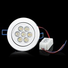 HXE2012-5 245V 750lm 3500K Warm White Light LED Ceiling Lamp - White (AC 85245V)