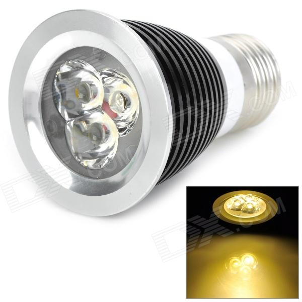 E27 3W 320lm 3500K Warm White 3-LED Bulb (220V)
