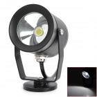 10W 950lm LED blanco faro de luz Motocicleta Daytime Running Light - (DC 12V / 15cm cable)