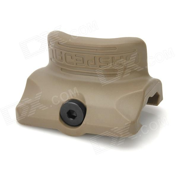 P2S Tactical Gas Pedal for 22mm Rail Gun - Khaki dlla133p814 common rail injector nozzle suitable for diesel engine a