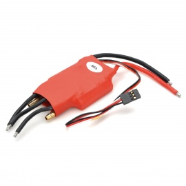 50A Dual-Direction BEC Motor Speed Controller for Boat Model - Red