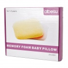 Slow Rebound Memory Foam Pillow for Baby - Light Yellow