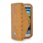 SAMDI Classic Envelope Style Protective PU Leather Case for Samsung Galaxy S3 i9300 - Brown