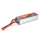 WILD SCORPION Replacement 14.8V 4200mAh Battery for R/C Boat Toy - Black + Silver