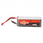 WILD SCORPION 22.2V 35C 4200mAh Li-ion Polymer Batter Pack for R/C Model - Red + Black + Silver