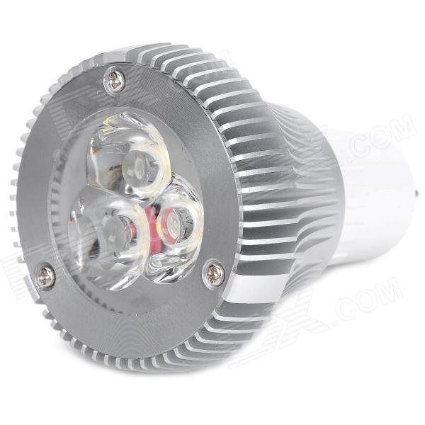 G5.3 3W 6500K 320lm 3-LED White Spotlight (220V)