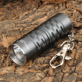 SmallSun ZY-F01 380lm White Flashlight w/ Keychain - Deep Grey