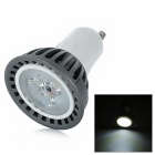 GU10 3W 320lm 6500K 3-LED White Light Spotlight (220V)