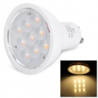 Gu10 3W 3200K 200lm 9-SMD 2835 LED Warm White Spotlight (85~245V)