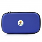 Protective EVA Hard Bag Case fro Wii U - Deep Blue