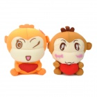 Cartoon Monkey Style Bamboo Charcoal Odor Absorber for Car (Pair)
