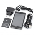 "LG P705 Optimus L7 Android 4.0.3 WCDMA Bar Phone w/ 4.3"" Capacitive Screen, Wi-Fi and GPS - Black"